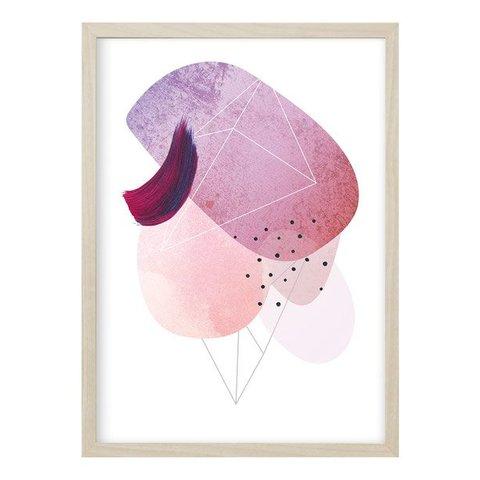 """Poster """"ABSTRACT NO. 3"""" von Kruth Design"""