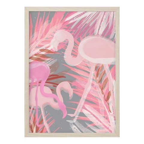 "Poster ""FLAMINGO"" von Kruth Design"