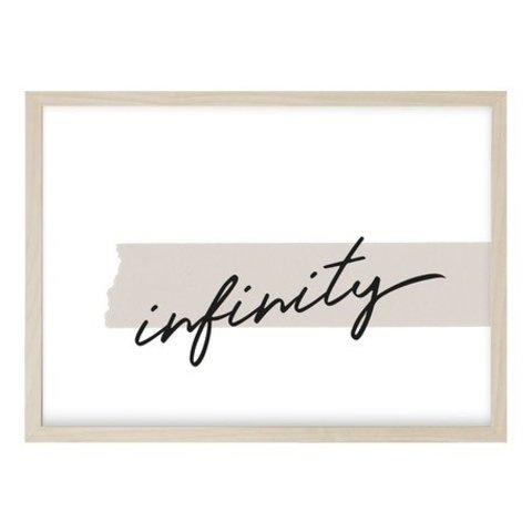 """Poster """"INFINITY"""" von Kruth Design"""