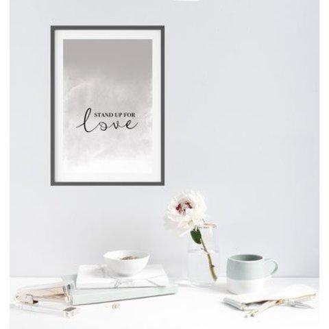 """Poster """"STAND UP"""" von Kruth Design"""