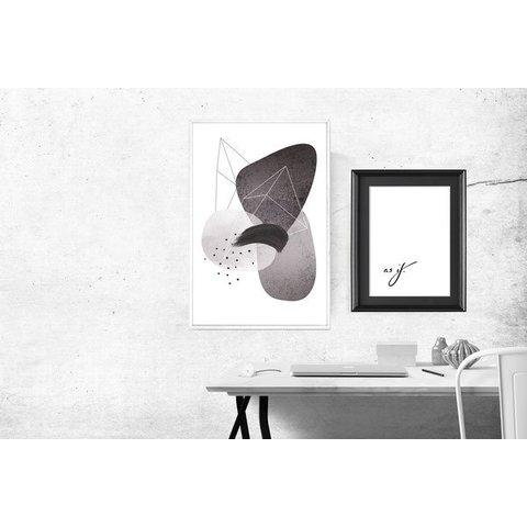 """Poster """"ABSTRACT NO. 4"""" von Kruth Design"""