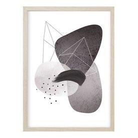 """Kruth Design Poster """"ABSTRACT NO. 4"""" von Kruth Design"""