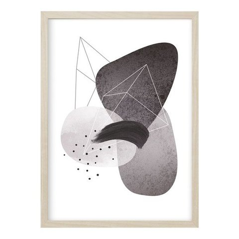 "Poster ""ABSTRACT NO. 4"" von Kruth Design"