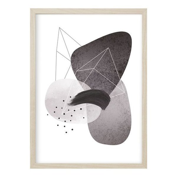 "Kruth Design Poster ""ABSTRACT NO. 4"" von Kruth Design"