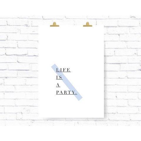 """Poster """"PARTY"""" von Kruth Design"""