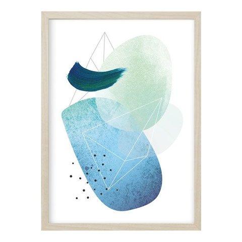 """Poster """"ABSTRACT NO. 2"""" von Kruth Design"""
