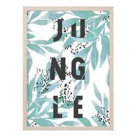 """Kruth Design Poster """"JUNGLE"""" von Kruth Design"""