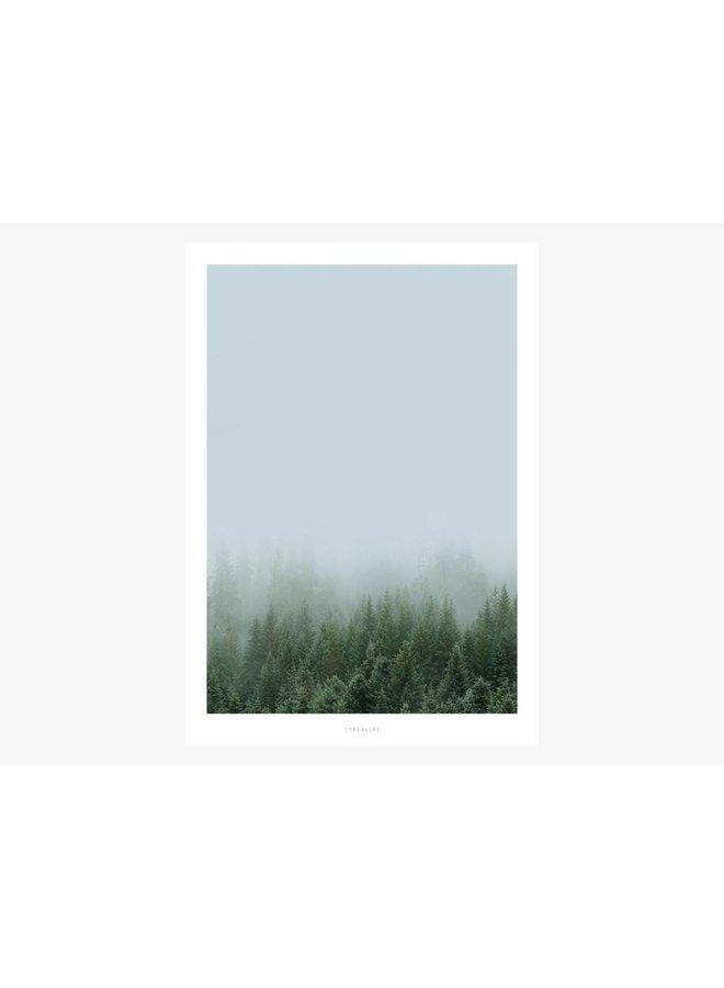 """Poster """"A Quiet Place No. 1"""" von typealive"""