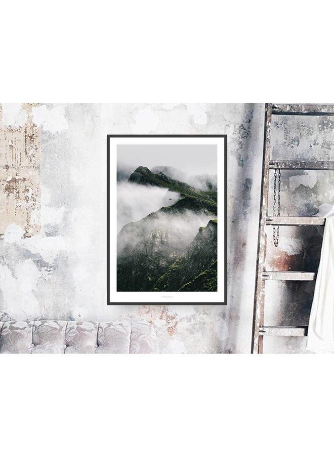 """Poster """"A Quiet Place No. 2"""" von typealive"""