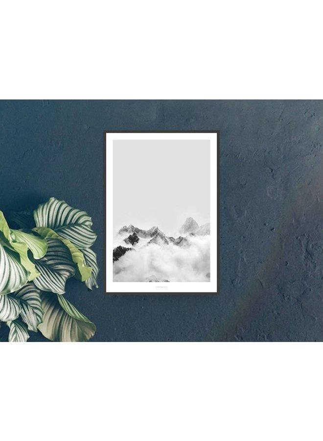 """Poster """"A Quiet Place No. 4"""" von typealive"""