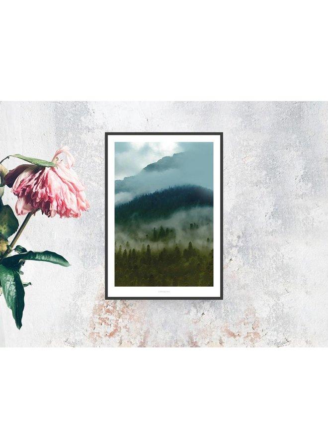 """Poster """"A Quiet Place No. 5"""" von typealive"""