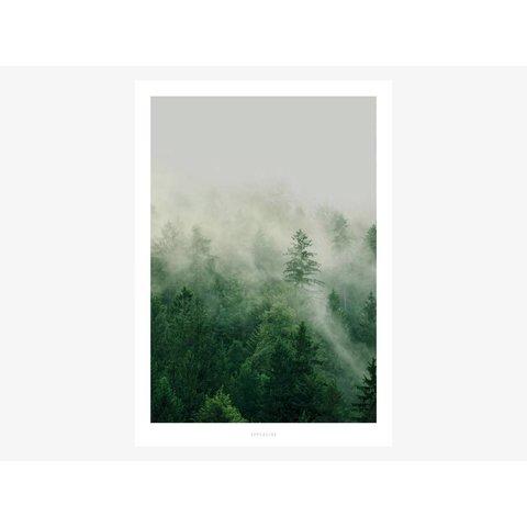 """Poster """"A Quiet Place No. 7"""" von typealive"""