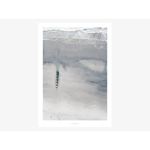 "Poster ""Above The Beach No. 2"" von typealive"