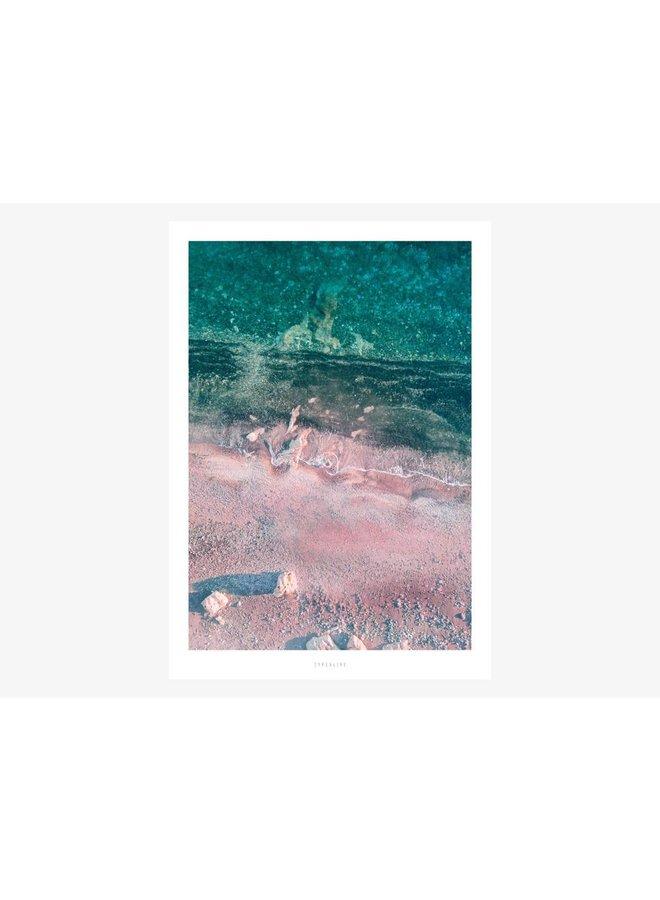 """Poster """"Above The Beach No. 4"""" von typealive"""