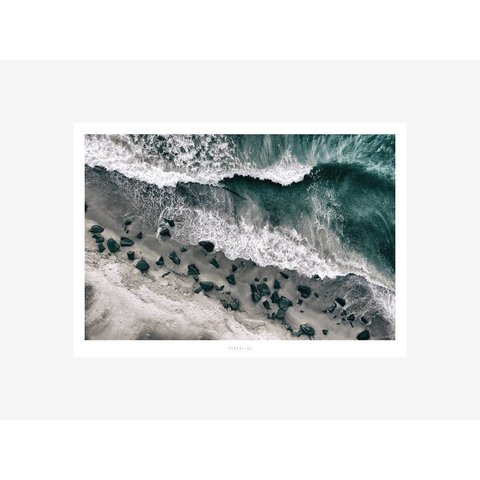 "Poster ""Above The Sea No. 1"" von typealive"