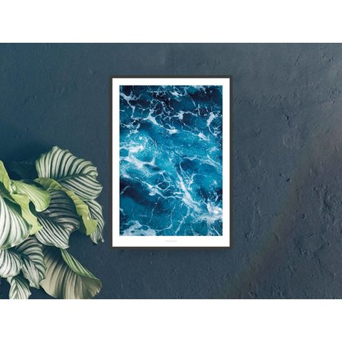 "Poster ""Above The Sea No. 2"" von typealive"