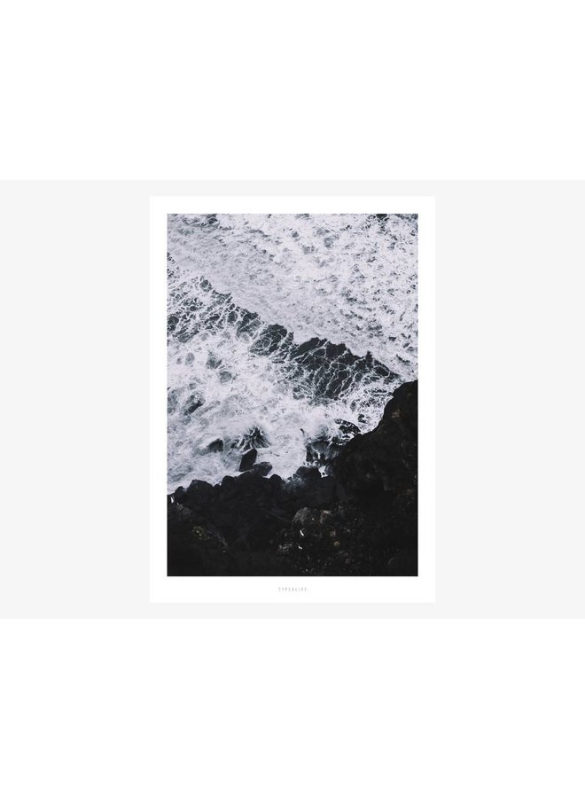 "Poster ""Above The Sea No. 3"" von typealive"
