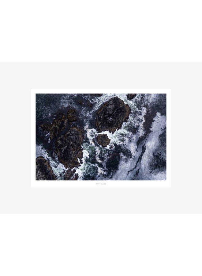 "Poster ""Above The Sea No. 4"" von typealive"