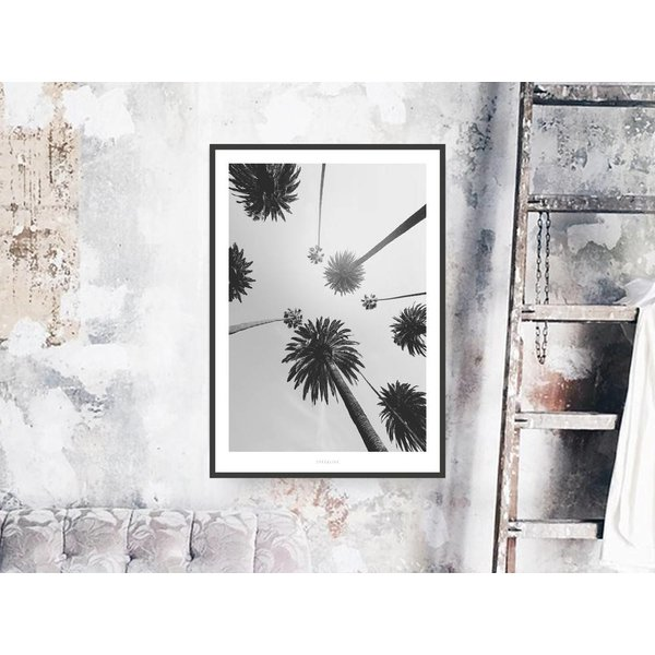 """typealive Poster """"All About Palms No. 7"""" von typealive"""