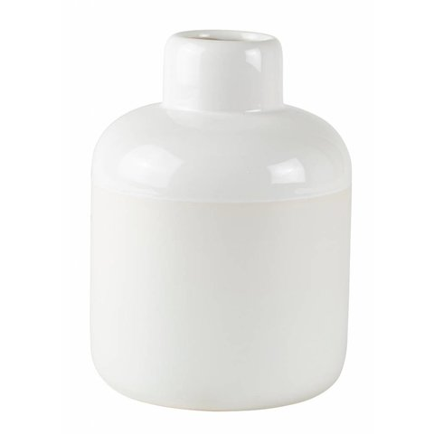 Keramikvase Weiß von bovictus