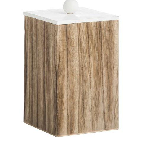 Aufbewahrungsbox Holz/Weiß S von Madam Stoltz