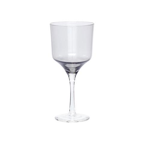 """Rotweinglas """"Grau"""" von Hübsch Interior"""