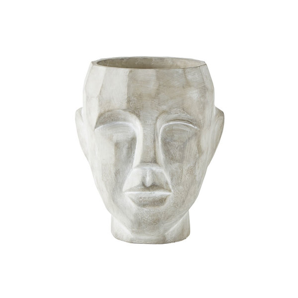 "Villa Collection Flowerpot ""Gesicht"" von Villa Collection"