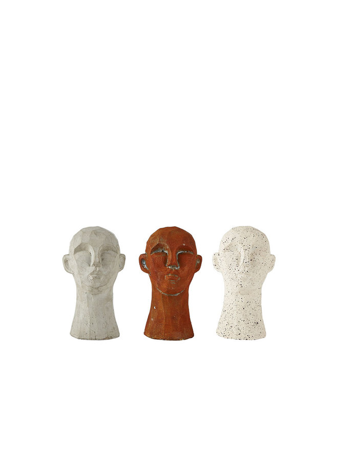 """Figur """"Kopf Braun"""" von Villa Collection"""