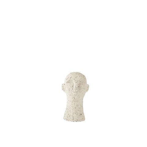 """Figur """"Kopf Grauweiß"""" von Villa Collection"""