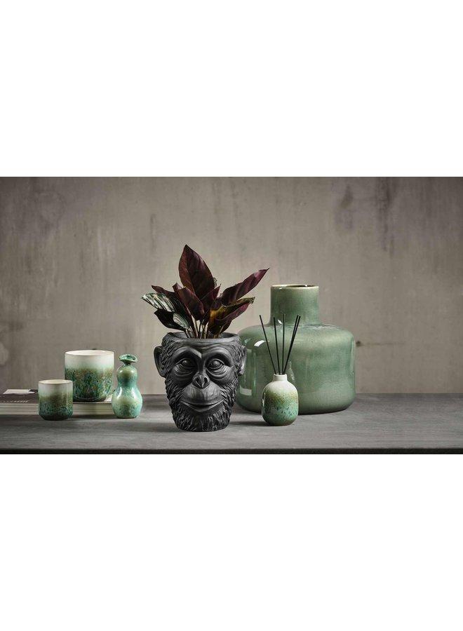 """Vase """"Stoneware"""" in Grün von Villa Collection"""