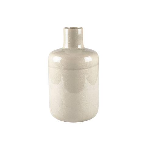 """Vase """"Stoneware"""" in Creme von Villa Collection"""
