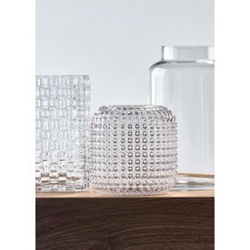 "Villa Collection Vase ""Pattern"" aus Glas von Villa Collection"