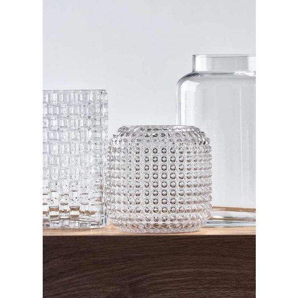 """Villa Collection Vase """"Pattern"""" aus Glas von Villa Collection"""