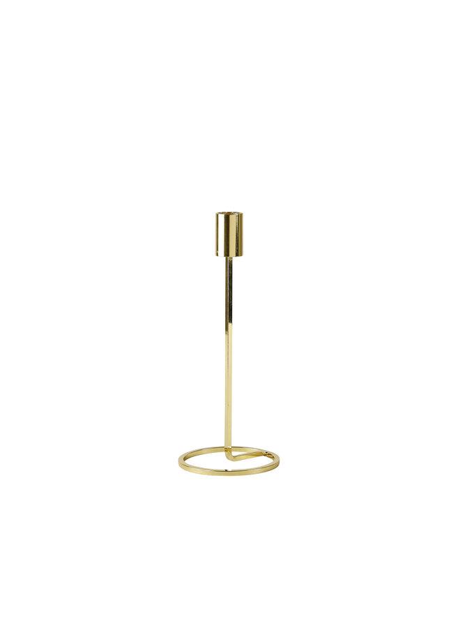 """Kerzenhalter """"Metall 23cm"""" in Gold von Villa Collection"""