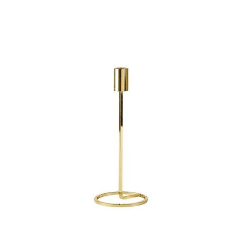 """Kerzenhalter """"Metall"""" in Gold von Villa Collection"""