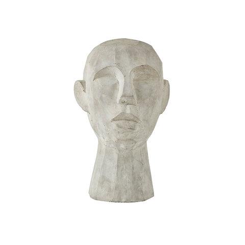 """Figur """"Kopf"""" aus Zement von Villa Collection"""