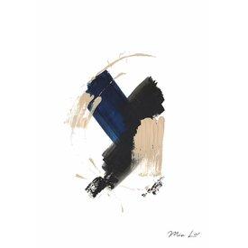 "Mia Liv Print ""True Blue II"" von Mia Liv"