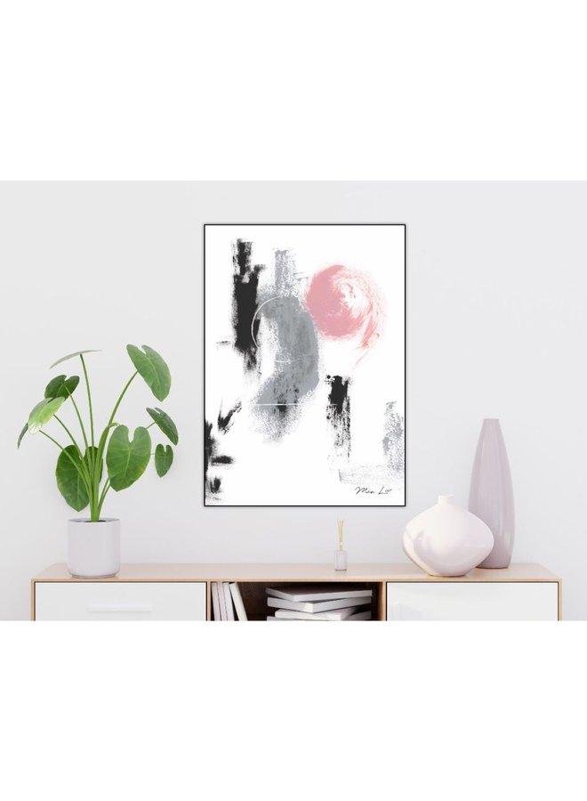 "Print ""Circle"" von Mia Liv"