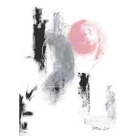 """Mia Liv Print """"Circle"""" von Mia Liv"""