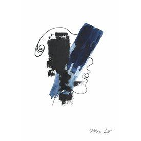 "Mia Liv Print ""Face"" von Mia Liv"