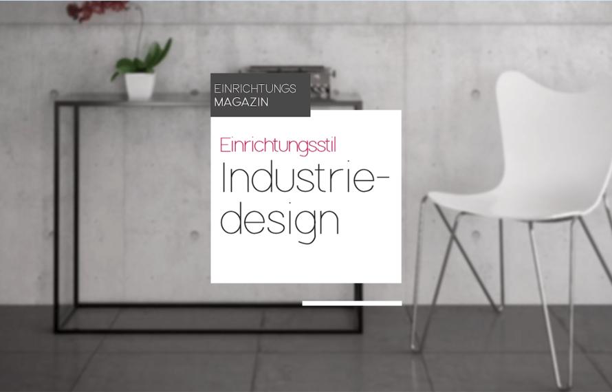 Einrichtungsstil: Industriedesign