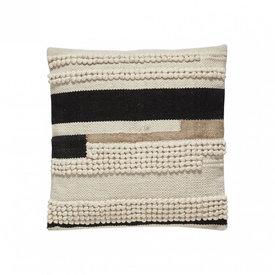 Hübsch Interior Baumwollkissen mit Muster von Hübsch Interior
