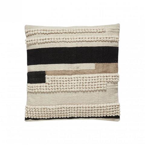 Baumwollkissen mit Muster von Hübsch Interior