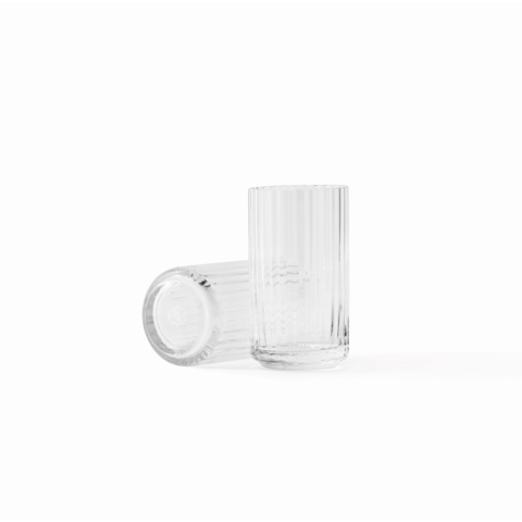 "Lyngbyvase ""Glas klar 12,5"" von Lyngby Porcelæn Danmark"