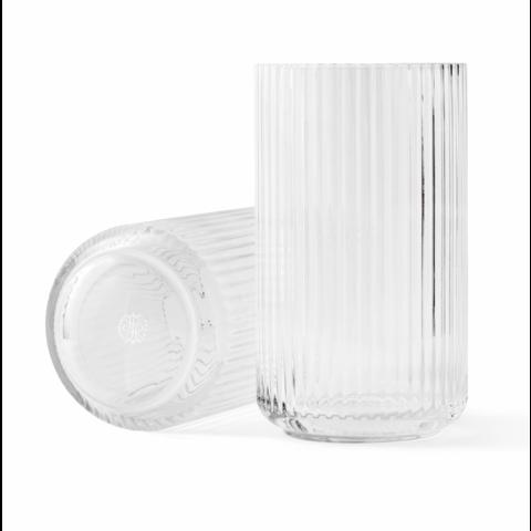 "Lyngbyvase ""Glas klar 25"" von Lyngby Porcelæn Danmark"