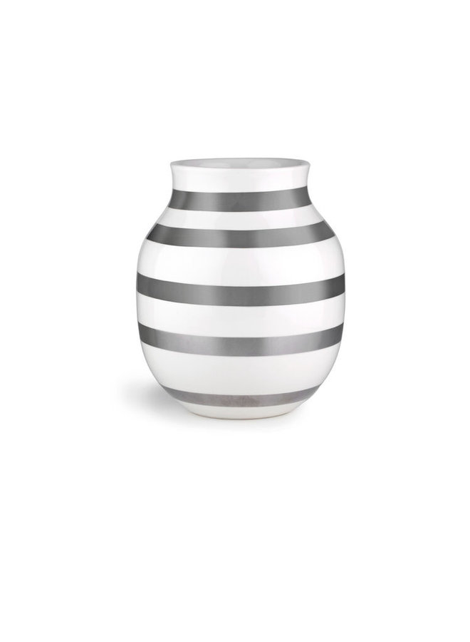 """Vase """"Omaggio"""" Silber von Kähler Design"""