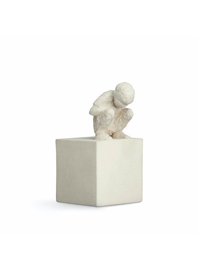 """Skulptur """"The Curious One"""" von Kähler Design"""