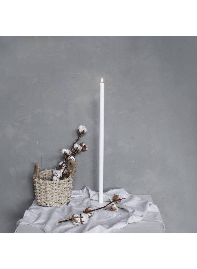 """Kerzenständer """"Ekeberga"""" in Weiß von Storefactory"""