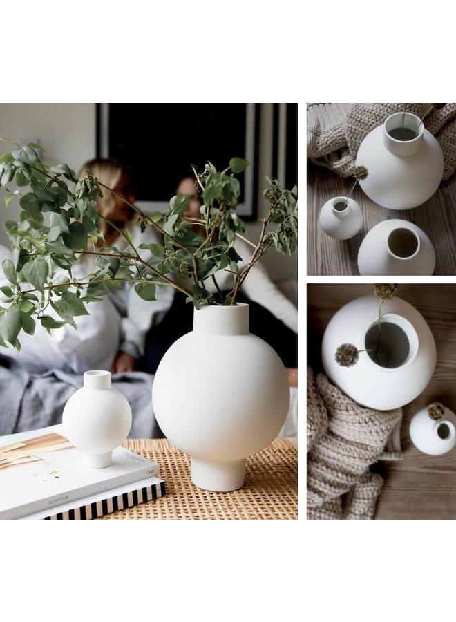 """Vase """"Vik"""" (groß) in Weiß von Storefactory"""