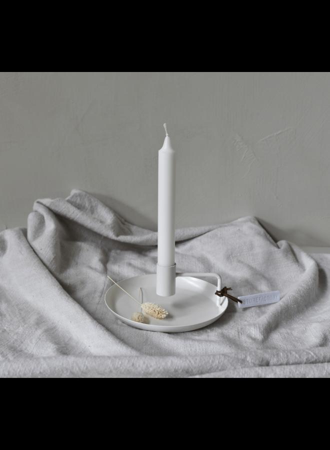 """Kerzenhalter """"Tegelviken"""" in Weiß von Storefactory"""